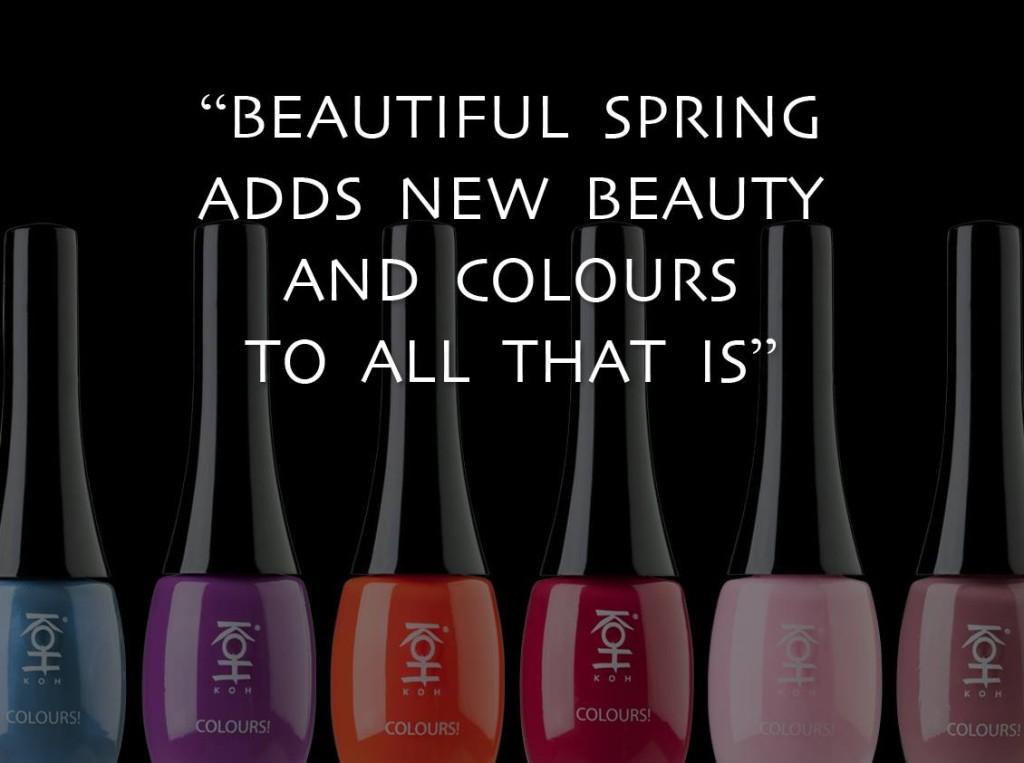 Quotes passen bij het high end merk KOH Cosmetics en hebben dan ook een vaste plek op de verschillende kanalen.