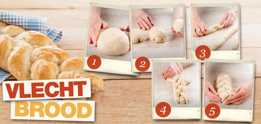 Hoe maak je vlechtbrood? Zo dus!