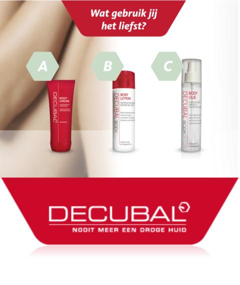 Welk Decubal product gebruik jij het liefste?