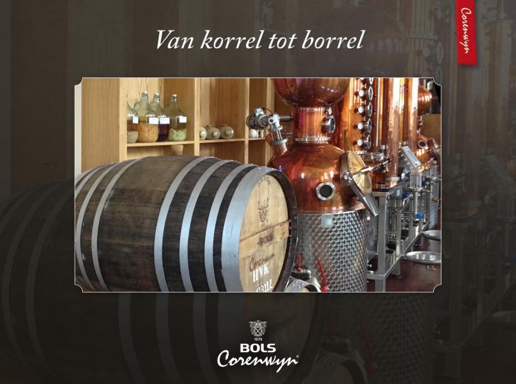 Van korrel tot borrel. Zo wordt Bols Corenwyn gemaakt.